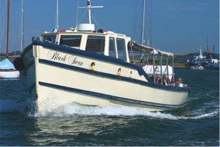 Park and Float to Falmouth - One of the classic ferries used in the scheme - courtesy Cornwall Ferries Ltd