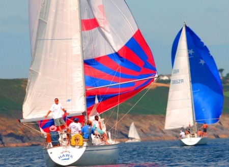 Sailing in Falmouth, Cornwall - credit Cornwall Marine Network