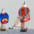 Spinnakers out! - credit CMN