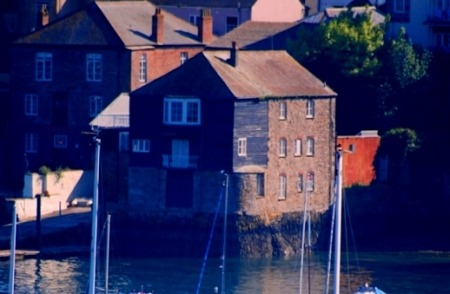 Historic quayside buildings