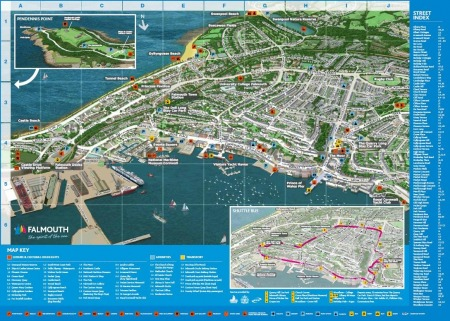 Falmouth Map